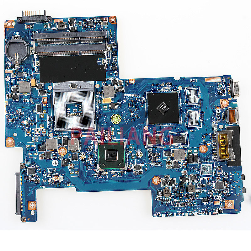 PAILIANG Laptop motherboard for Toshiba C670 C670 17D PC Mainboard HM65 H000033490 full tesed DDR3