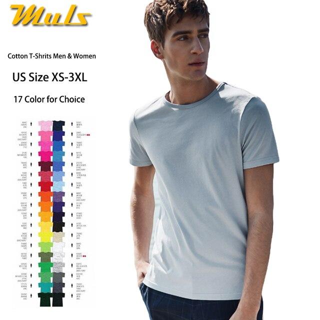 00f660aa8f4d Summer T shirts Men Women Premium Organic Cotton Male Tshirts Mens Clothing  Basic Short Sleeve Top