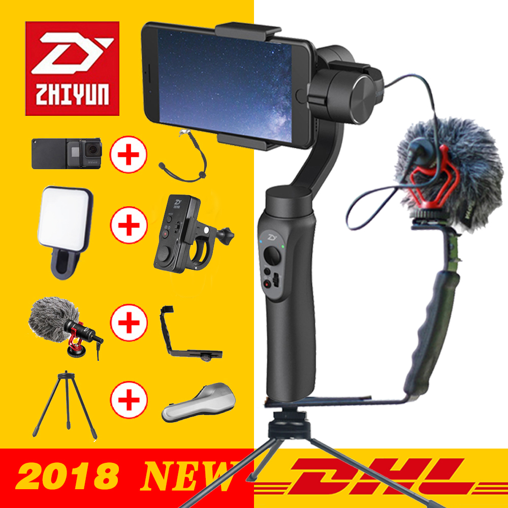 Zhiyun SMOOTH Q 3 Axis Handheld Gimbal Stabilizer for font b Smartphone b font action camera