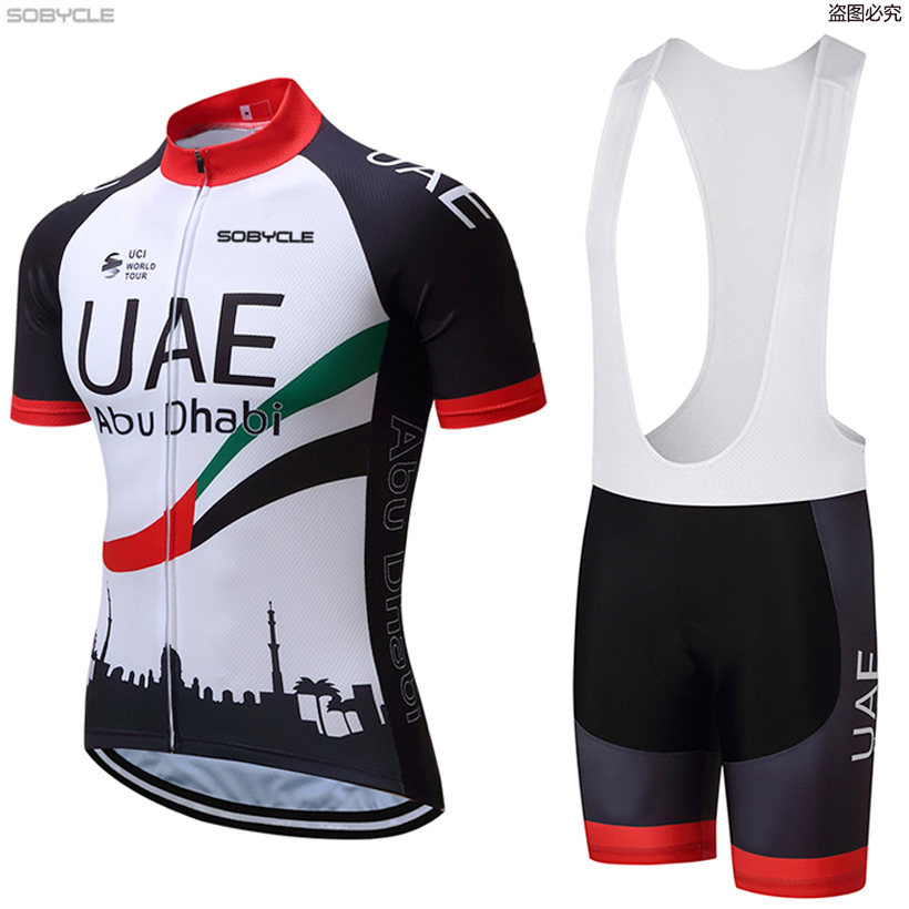 New 2019 TEAM UAE pro cycling jersey 9D gel pad bike short SET MTB Ropa Ciclismo PRO cycling WEAR men BICYCLING Maillot Culotte цена