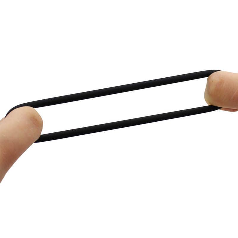 3pcs 지연 사정 수탉 반지 남근 조련사 연약한 실리콘 남근 반지 남자를위한 성 장난감 지속적인 반지 남성 순결 장치