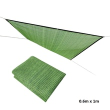 Sun Shade Net 0.6m x 1m Sunscreen Mesh Balcony Garden Gardening Fleshy Sunshade Cover Flower Green Plant Free Shipping
