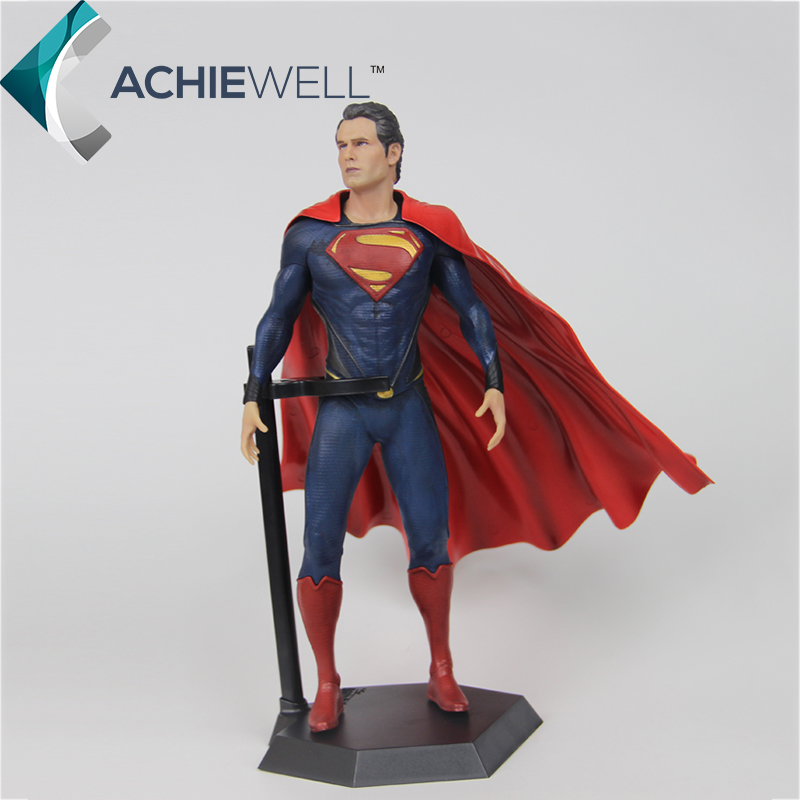 Brand Crazy Toys Superman Man of Steel Super Hero Character PVC Action Figure Collectible Model Toy 12 30CM Collection high quality crazy toys superman man of steel pvc action figure collectible model toy 12 30cm free shipping kb0386