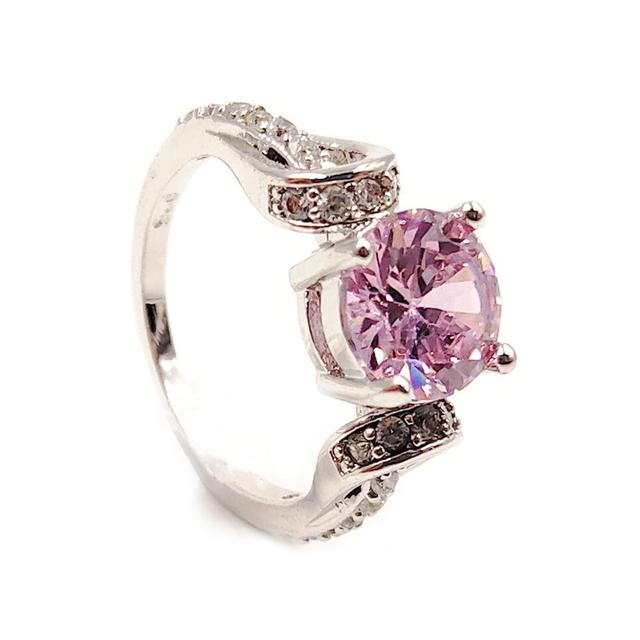 Round Crystal Ring 1
