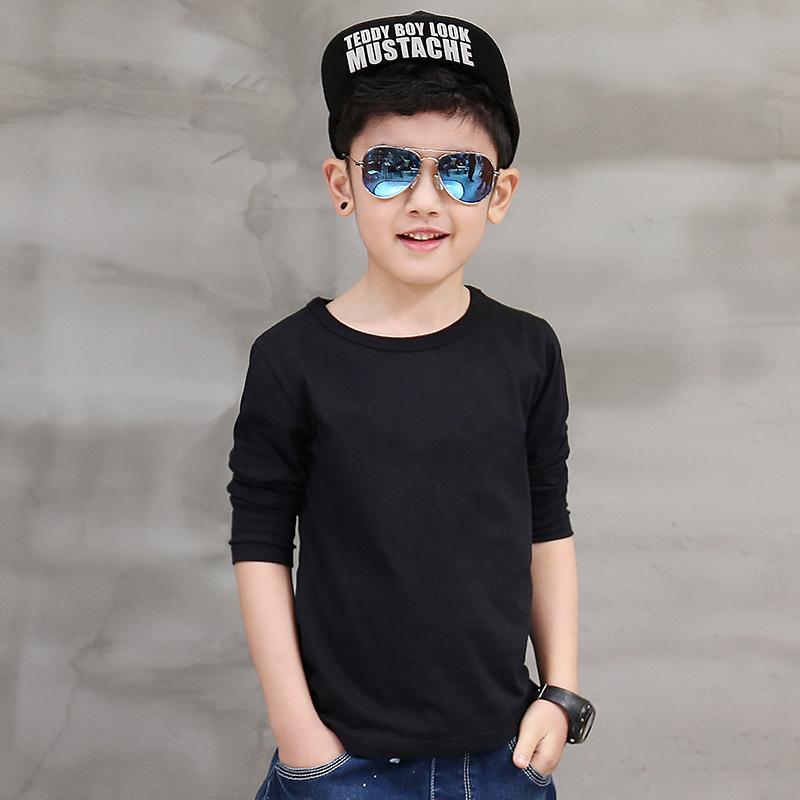 Pioneer Kids 2016 New Arrive Autumn Spring Style Longsleeve school Boys Clothes Kids Children t Shirts Tops boy clothes navy style boys t shirts 2016 new spring fake two pieces striped patch kids t shirt brand boy clothes casual children clothing