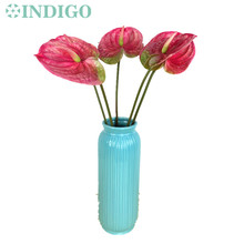 5pcs/lot Anthurium - Plastic Real Touch Display Flower Wedding Flower Calla Latex Flower Home Decoration Table Flower Wholesale