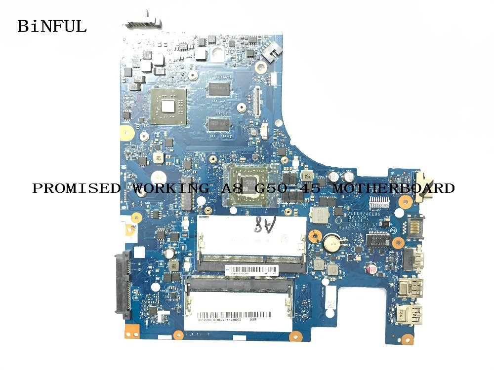 BiNFUL AVAILABLE 100 new WORKING PROCESSOR A8 ACLU5 ACLU6 NM A281 LAPTOP MOTHERBOARD FOR LENOVO G50
