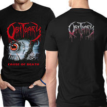 Obituary Band Metal T-shirt Two Sides Tee New Mens T Shirt Size S To 3XL Printed Summer Style Tees Male Harajuku Top