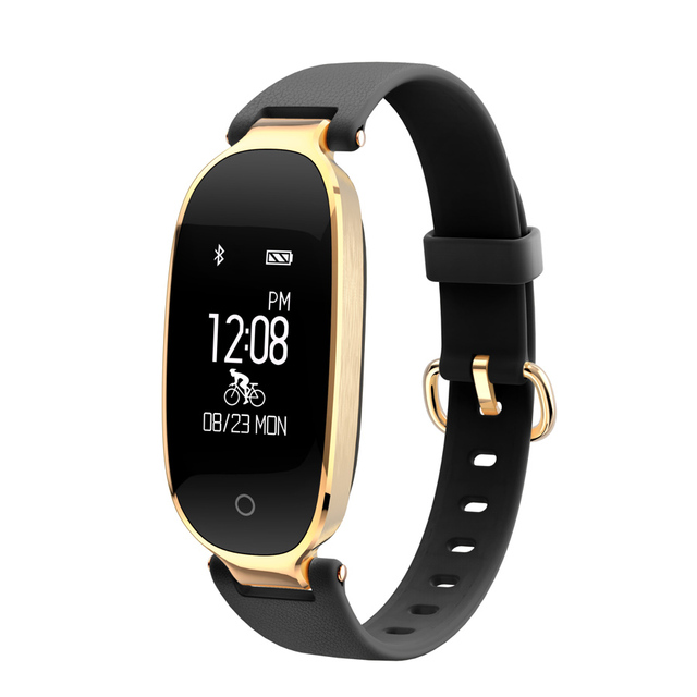 OLED Heart Rate Monitor Smart Band Fitness Tracker Bracelet Bicycle-riding Mode Remote Music for IOS Andriod Meizu Ladies Watch