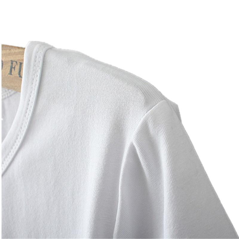 467399a4528 Peso medio de la ropa: 0,1 kg para ahorrar el flete para los vendedores.  Blanco y negro de las mujeres con estilo Top de malla Botón de manga larga  Camiseta ...