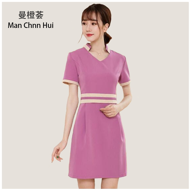 Beautician clothing dress summer Slim Beauty Salon ...