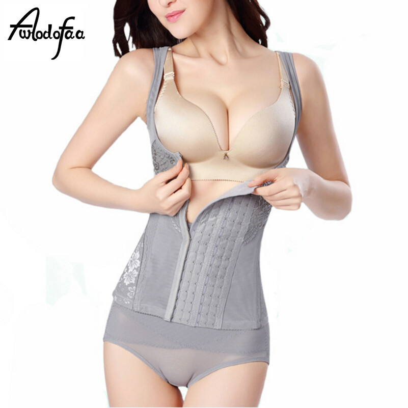 8c27393de2e86 Fashion Elastic Women Sexy Corset Postpartum Thin Waist Slimming ...