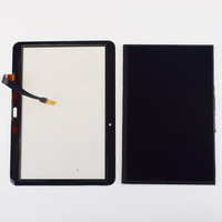For Samsung Galaxy Tab 4 10.1 T530 T531 T530 Black / White Touch Screen Sensor Digitizer + LCD Display Screen Panel Monitor