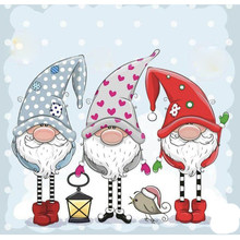 Santa Claus Transparent Silicone Stamp And metal die/Seal for DIY scrapbooking/photo album Decorative clear stamp sheets(China)