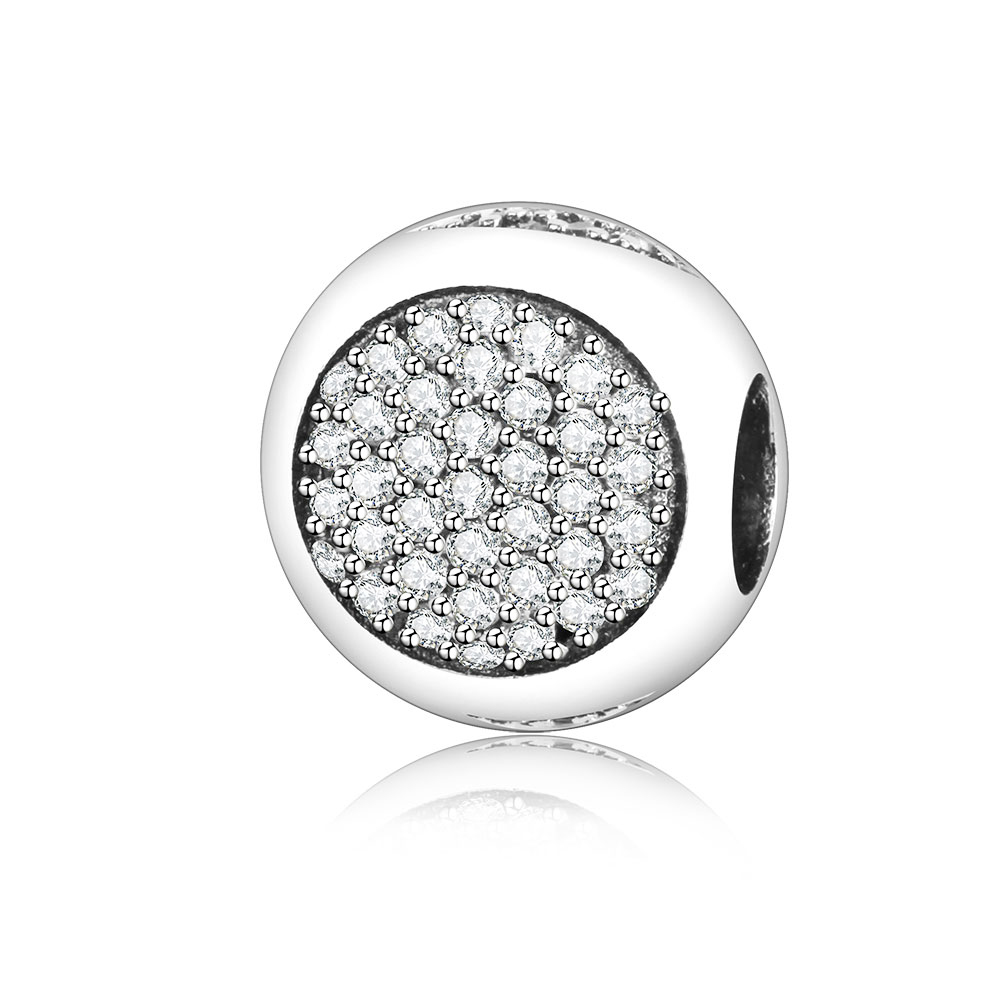 Aliexpress.com : Buy 925 Sterling Silver Bead Charm Pave