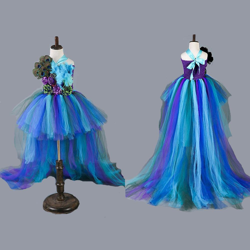 Princess Moana Tutu Dress For Girls Birthday Party Dress Up Children ...