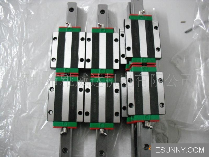 100% genuine HIWIN linear guide HGR30-600MM block for Taiwan 100% genuine hiwin linear guide hgr30 300mm block for taiwan