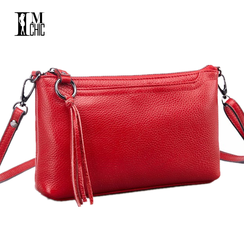 2017 Women Messenger Bags Genuine Leather Cowhide Tassel Ladies Satchel Handbags Real Skin Casual Woman Crossbody Shoulder 889