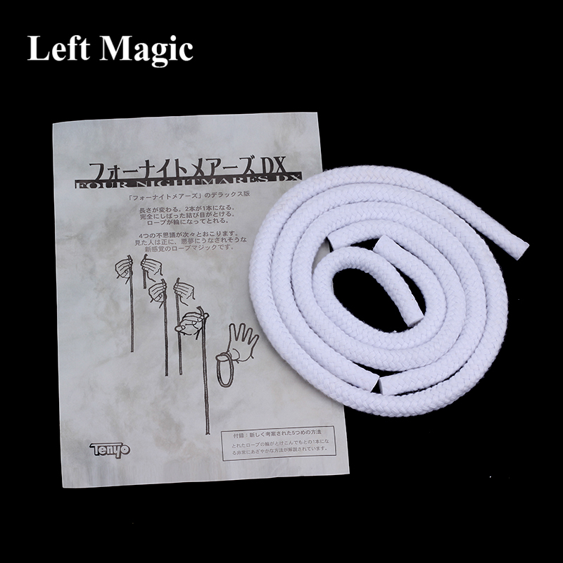 Tenyo Four Nightmare DX Rope Magic Tricks Long Short Rope Illusion Stage Gimmick
