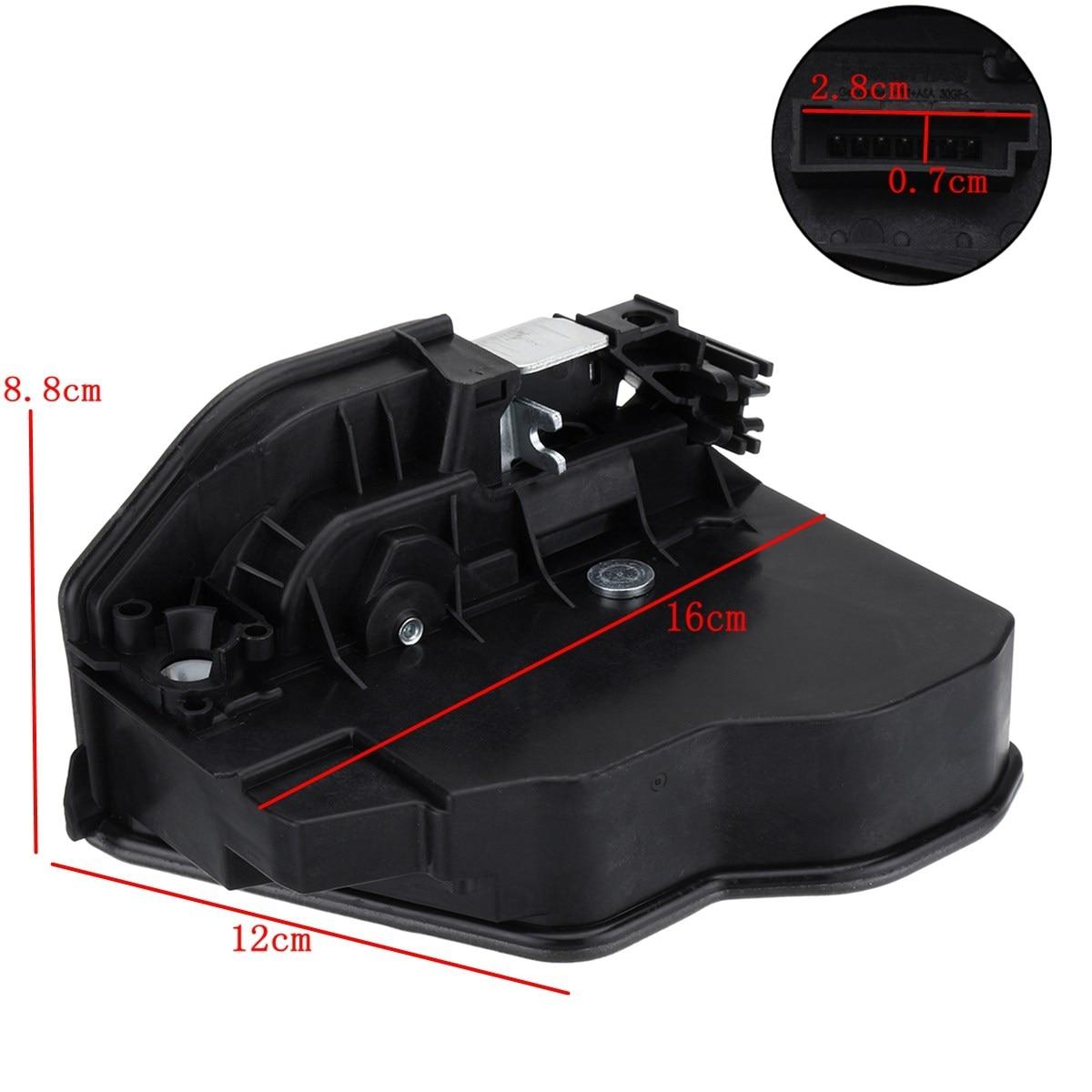 Actionneur électrique de verrou de porte de puissance pour BMW X6 E60 E70 E90 OEM 51217202143 51217202146 51227202147 51227202148 - 6