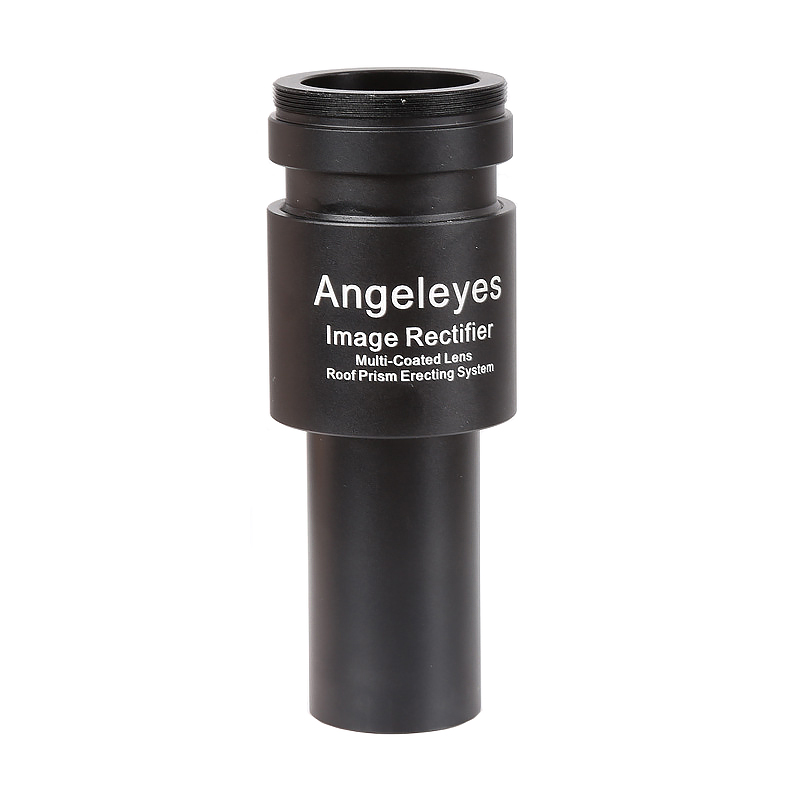 1.25inch Positive Eyepiece Build-in 2X Barlow Erecting Image Prism Lens M42 Thread for Reflective Astronomical Telescopes
