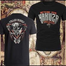 ec3289e6125 Cool YAKUZA PREMIUM T-Shirt YPS Schwarz T-Shirts Cotton Tees Round Neck  Tshirt