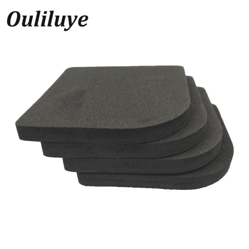 4PCS/Set Anti Vibration Mat Non-Slip Shock Mat For Kitchen Washing Machine Refrigerator Chair Table Leg Feet Non-Slip Pads