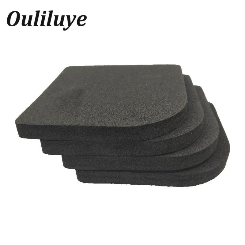 4PCS/Set Anti Vibration Mat Non-Slip Shock Mat For Kitchen Washing Machine Refrigerator Chair Table Leg Feet Non-Slip Pads