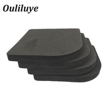 4PCS/Set Anti Vibration Mat Non-Slip Shock Mat For Kitchen Washing Machine Refrigerator Chair Table Leg Feet Non-Slip Pads 8pcs black furniture chair desk feet protection pads eva rubber washing machine shock non slip mats anti vibration noise
