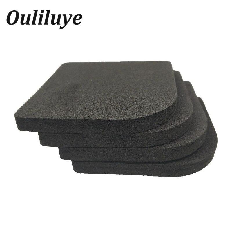 4pcs/set High Quality Washing Machine Shock Pads Non-slip Mats Refrigerator Anti-vibration Pad Table Leg Pads Protectors