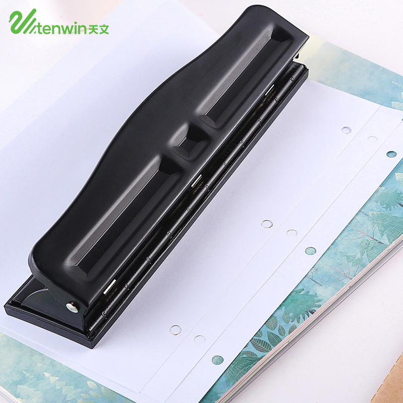 TEN-WIN new hole punch Portable black manual adjustable two or three hole punching machine office school use puncher удилище black hole с к stratos ii 520 new арт 00030470