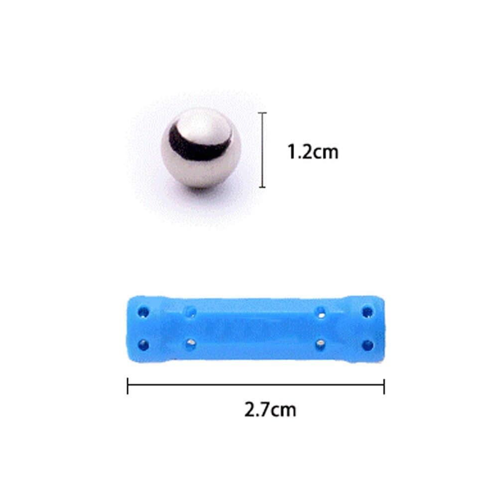 50/100/200 шт. магнитные палочки металлический шар Магнитный конструктор строительные блоки строительные игрушки для детей Подарки