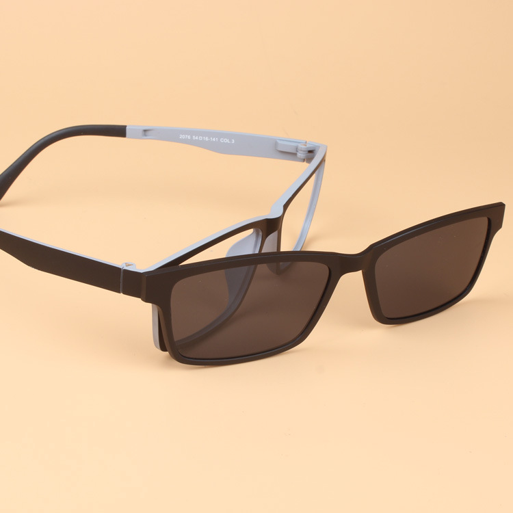 cf56ed85482 High End Quality Women Men Set Mirror Ultem Tungsten Steel Optical Myopia Glasses  Frame with Magnet Polarized Sunglasses Clip-in Eyewear Frames from Men s ...
