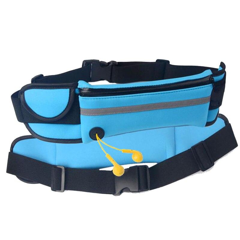 Multifunction Waterproof Neoprene Waist Packs Convenient Waist Bag for Men Women Phone Key earphone Pouch convenient sporty water resistant neoprene arm bag stylus for iphone 5c white