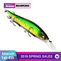 2017 BEARKING NEW fishing lures, assorted colors, minnow crank 11cm 14g,tungsten weight system. hot model crank bait 10 colors