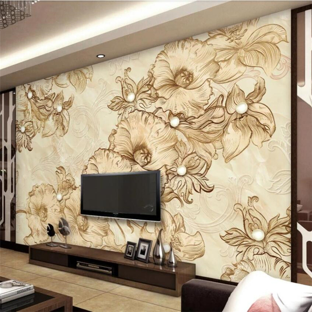 Beibehang Wallpaper Custom Living Room Murals Best Marble Line