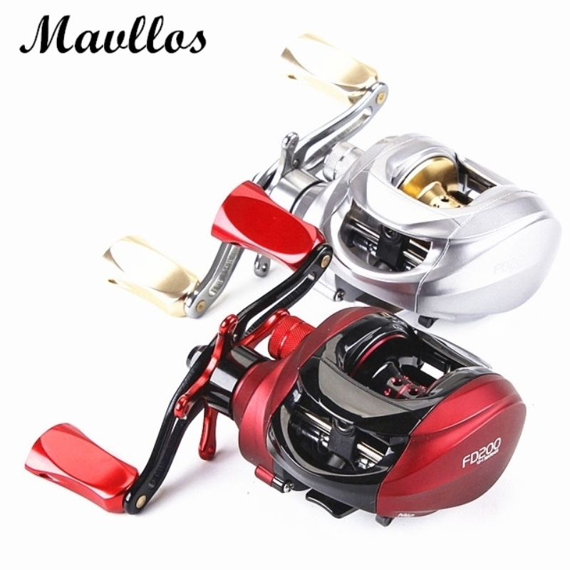 Mavllos 2017 Newest Centrifugal Brake Japan NMB Bearings Baitcasting Reel Left Right Hand Saltwater Bait Casting Fishing Reels new 12bb left right handle drum saltwater fishing reel baitcasting saltwater sea fishing reels bait casting cast drum wheel