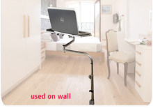 OK 170 Laptop wall Stand Adjustable Sofa Computer Monitor Holder Mount +Keyboard Holder Rotating Laptop Table Lapdes(China)
