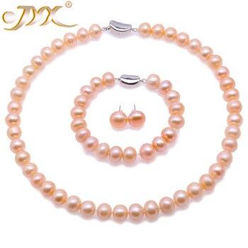5a511883ec2b Precio al por mayor 16new   8-9mm púrpura Akoya collar de perlas cultivadas  + pendiente 17