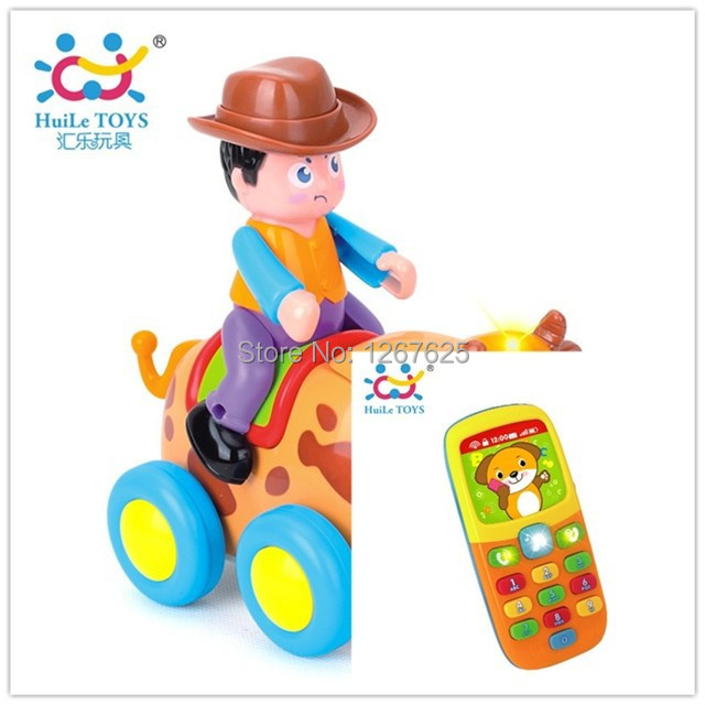 Eletronicos Action Animal Toys Puzzle Brinquedos Bebe Music Mobile Baby Toys Free Shipping Huile Toys 838B & 956