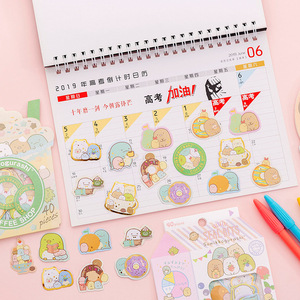 Image 4 - 24 pack/lot Sumikko Gurashi Mini sac décoratif papeterie autocollants Scrapbooking bricolage journal Album bâton étiquette