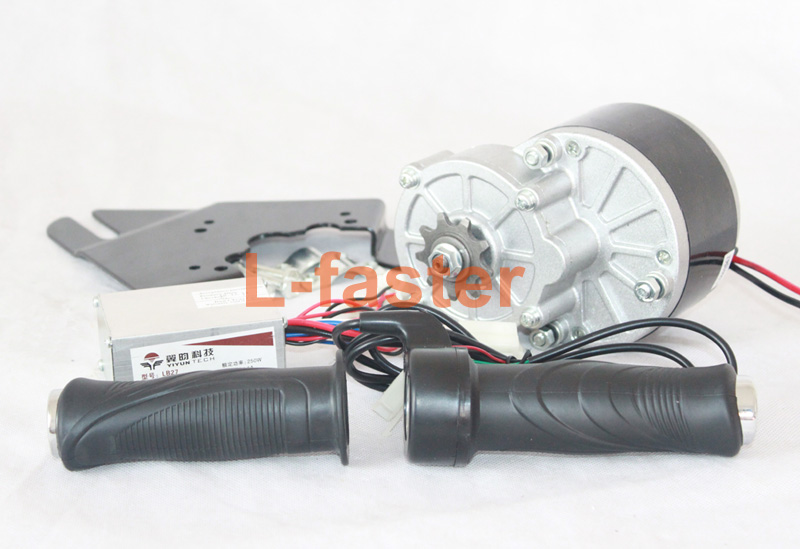 24v 250w electric motor kit unitemotor motor controller for 1 4 hp ac motor