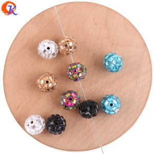 Image 4 - Cordial Design 100Pcs 12*14MM Jewelry Accessories/Crystal Bead/Polymer Clay Bead/Chunky Bead/DIY Bead/Hand Made/Earring Findings