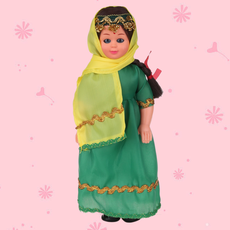 Vivid Baby Toys Ethnic Dolls Beautiful Indian Girls Clothes Lovely Dolls Handwork Toy Children's Best Gift 9.5inch Doll 1009-010 american girl doll clothes for 18 inch dolls beautiful toy dresses outfit set fashion dolls clothes doll accessories