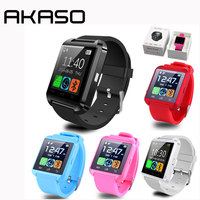 Bluetooth U8 Smart Watch Altimeter Barometer Clock Wrist Watches Passometer Smartwatch For IPhone Android PK GV18