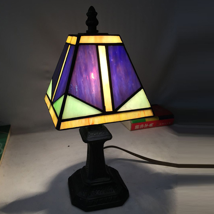 bedroom bedside lamp lighting Tiffany living room  wholesale nationwide shipping supply hot study wall lamp high grade antique tiffany lamp natural agate jade art decorative hanging lamp bedroom study room