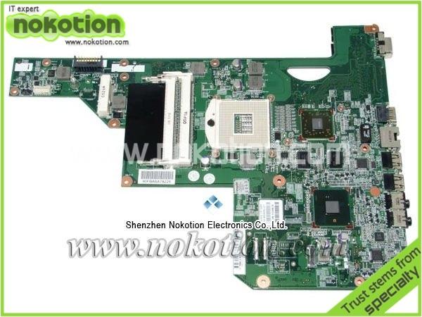 Para HP G62 placa madre del ordenador portátil intel HM55 608340-001 ATI vídeo DDR3 placa base 100% probó por completo
