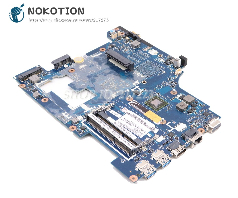 NOKOTION QAWGE LA-8681P Laptop Motherboard For Lenovo Ideapad G485 MAIN BOARD 14'' DDR3 CMC70 CPU
