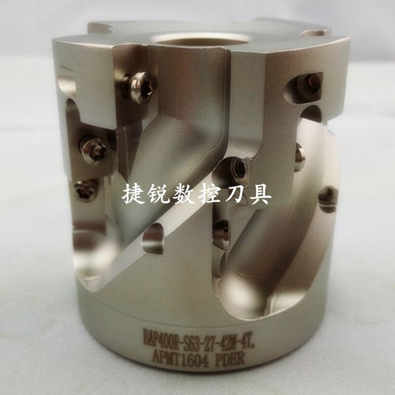 Corn milling cutter disc numerical control corn milling cutter rod BAP400R S63 27 42M 4T FACE