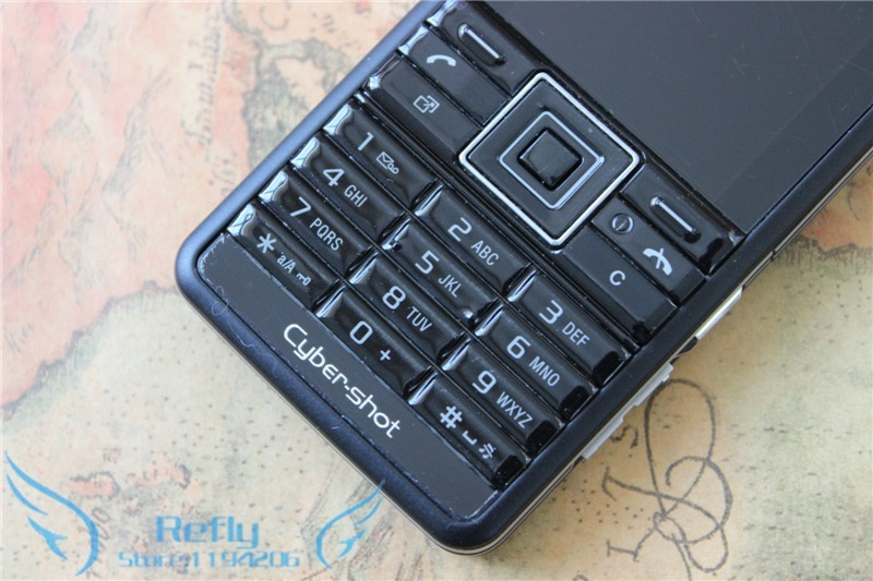 Refurbished phone Sony Ericsson C902 3G 5MP Bluetooh MP3 MP4 Player black 3